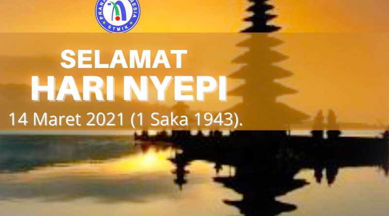 Hari Raya Nyepi 1 Saka 1943.